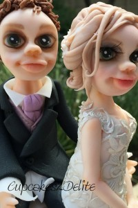 Bride & Groom (Lace) Figurines