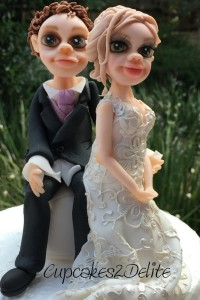 Bride & Groom (Lace) Figurines