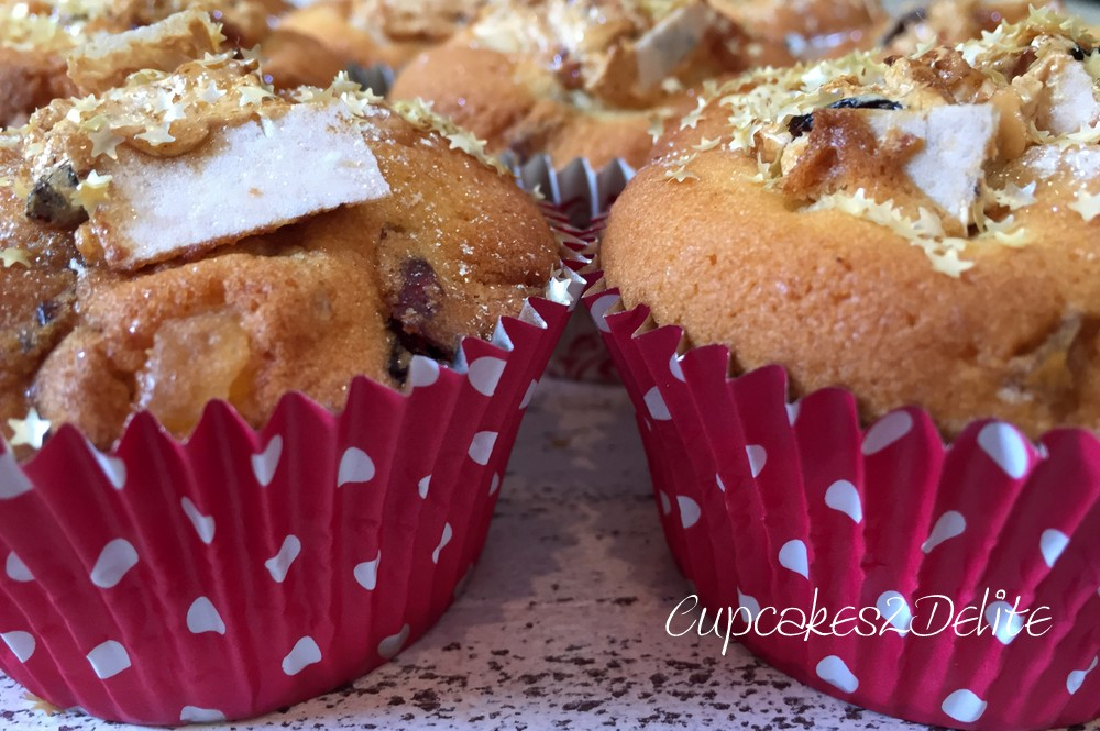 Christmas Cupcakes with Nougat