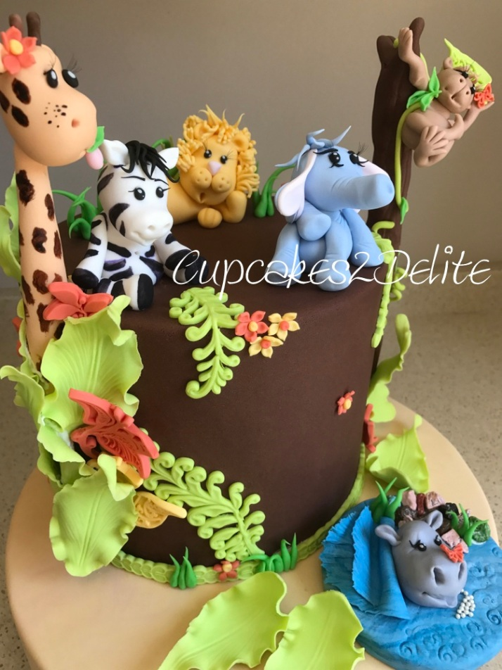 Birthday Cake For A 2 Year Old Cupcakes2delite