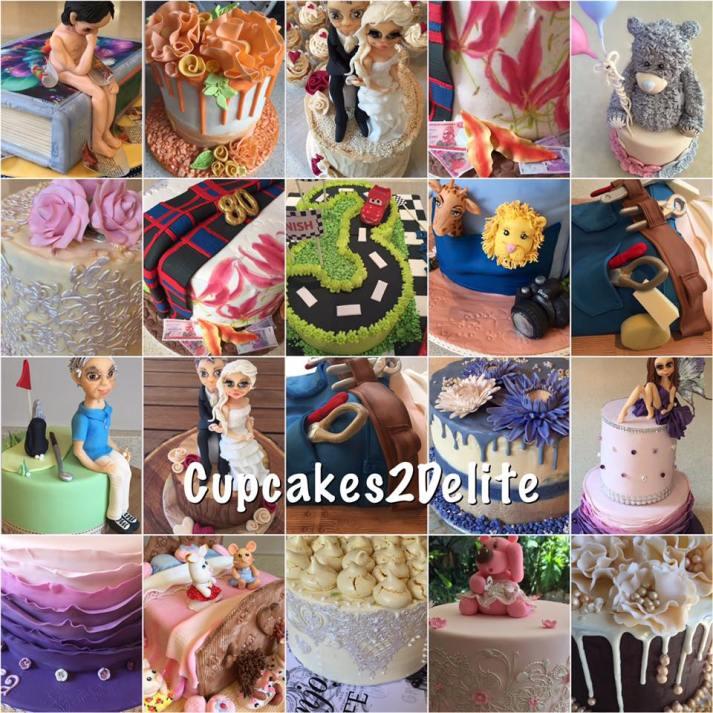 Cupcakes2Delite - Cakes 2016