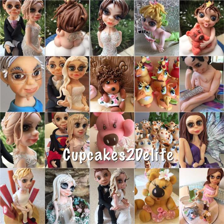 Cupcakes2Delite - Figurines 2016