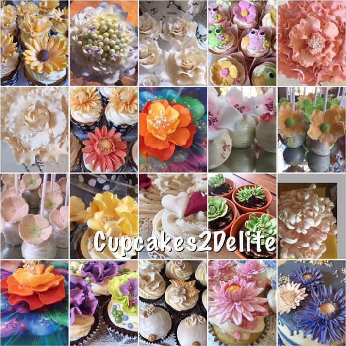Cupcakes2Delite - Flowers 2016