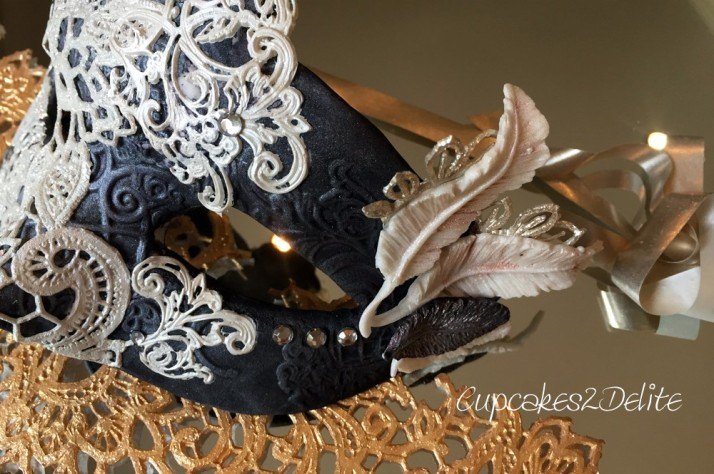 Crystal Candy Lace Mask