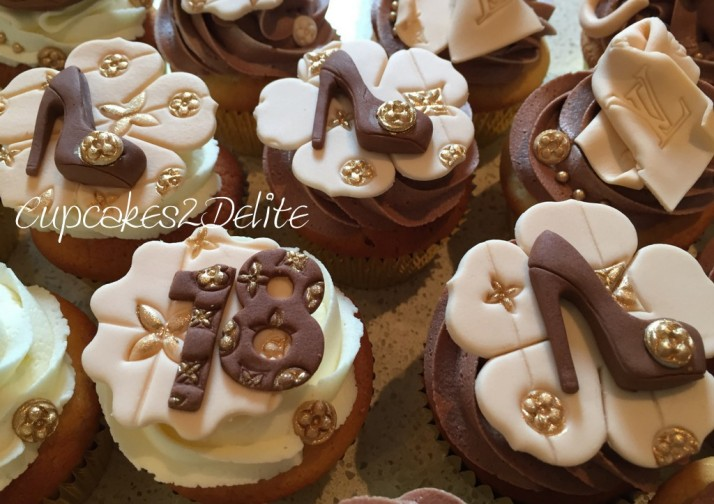 Louis Vuitton Cupcakes1