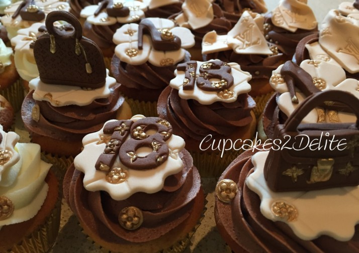Louis Vuitton Cupcakes