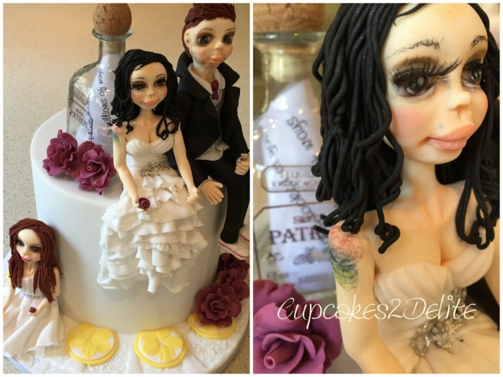 Craig & Anthea's Wedding Cake