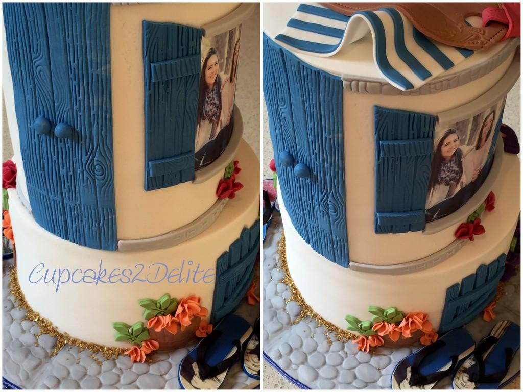 Greek 21st Cake