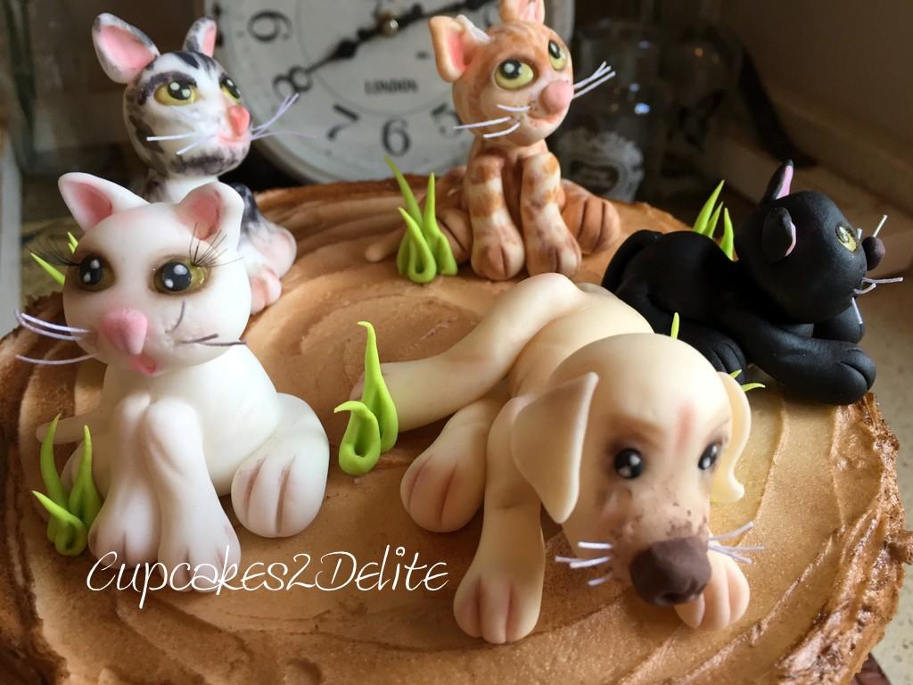 Pets Birthday Cake