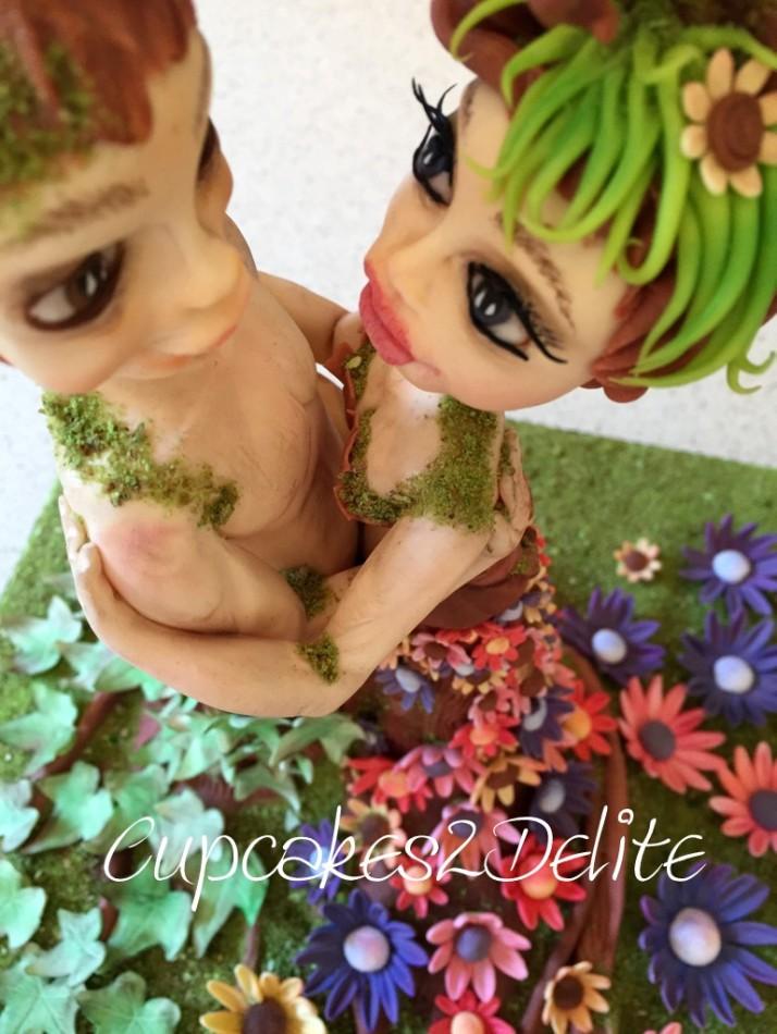 Embracing Nature Figurines