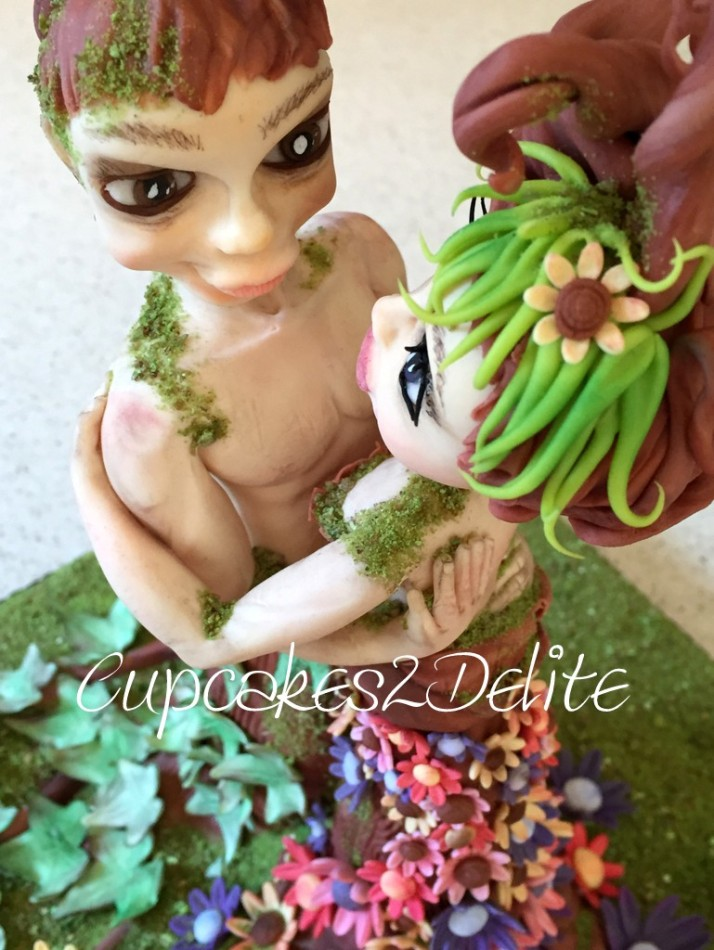 Embracing Nature Figurines
