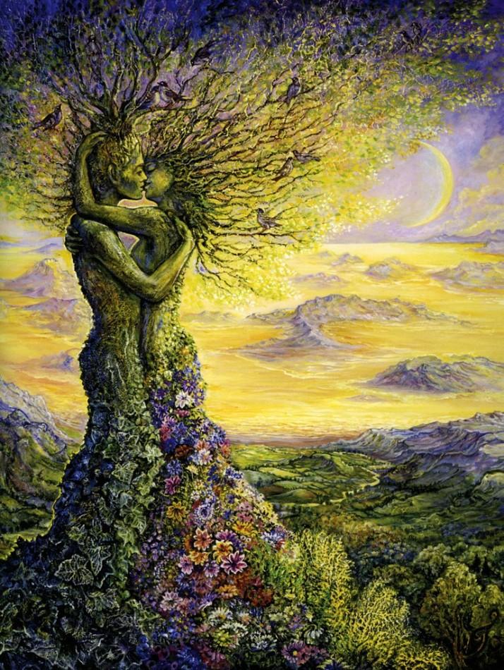 Josephine Wall's Nature's Embrace