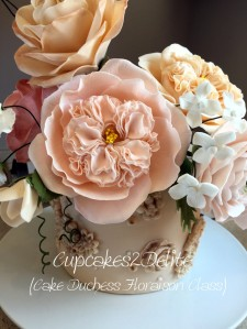 My Cake Duchess Floaraison Course Cake