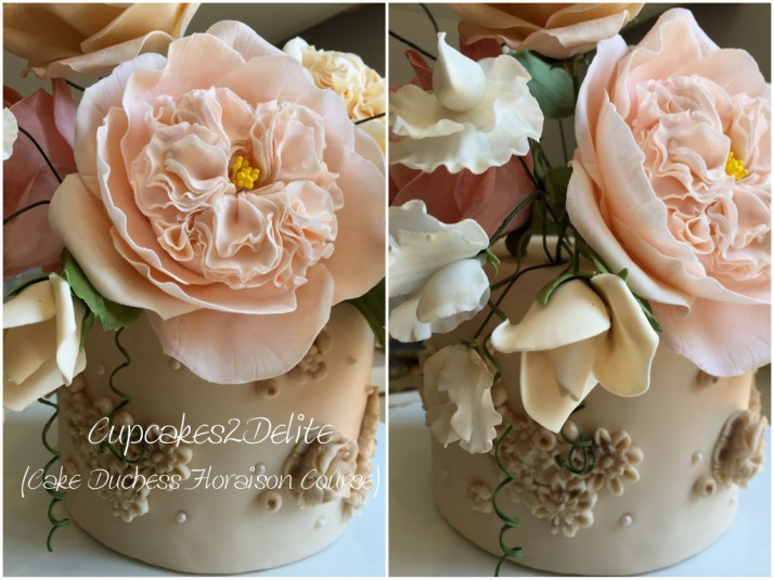 My Cake Duchess Floaraison Course Cake