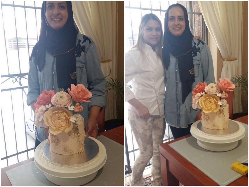 Cake Duchess Floraison Sugar Flower Art Course
