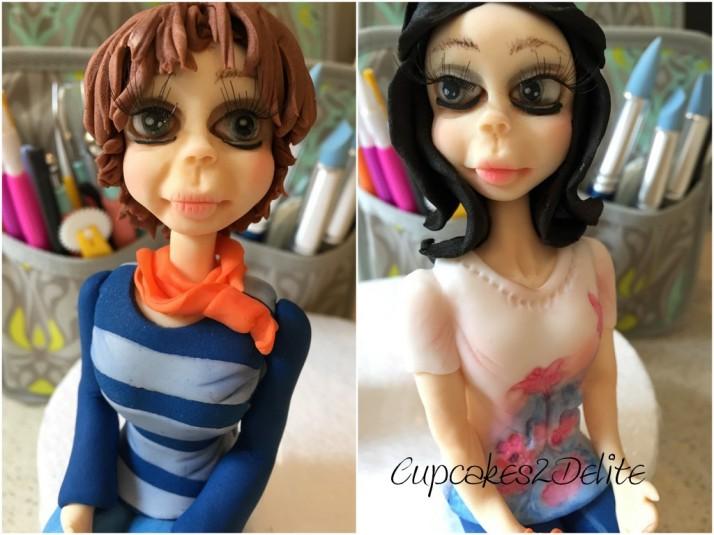 Scrapbooking Friends Figurines