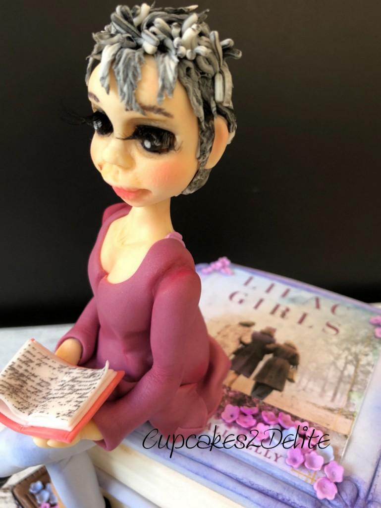 Wendy Figurine on Books