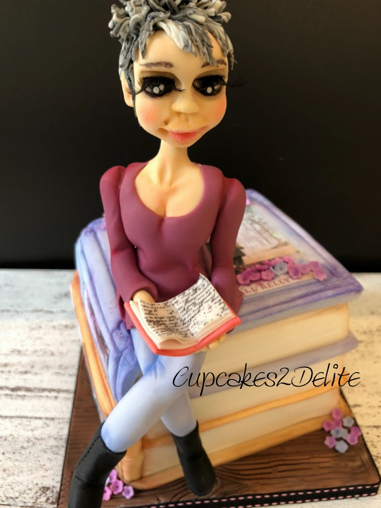 Wendy Figurine on Books
