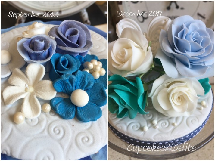 Wendy's Rose Cake Topper