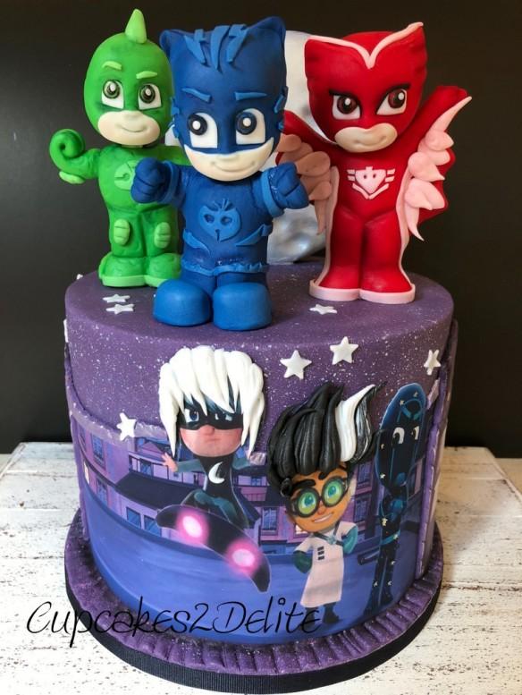 Pj Masks Cakes Cupcakes2delite
