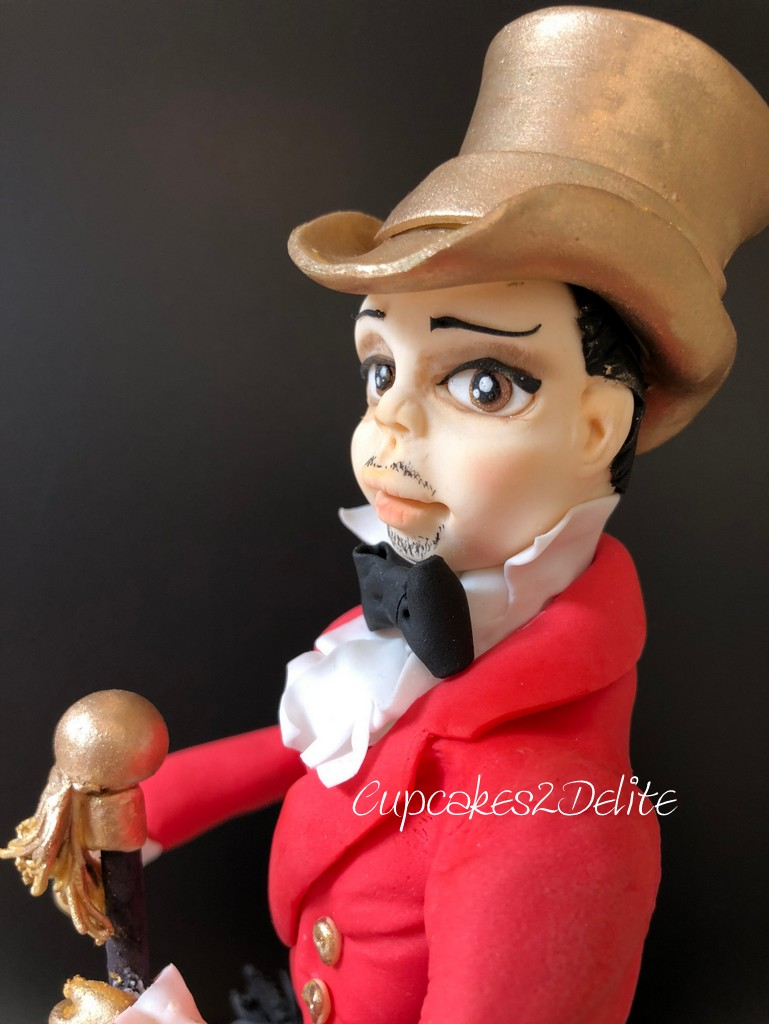 Johnny Walker Cake Topper