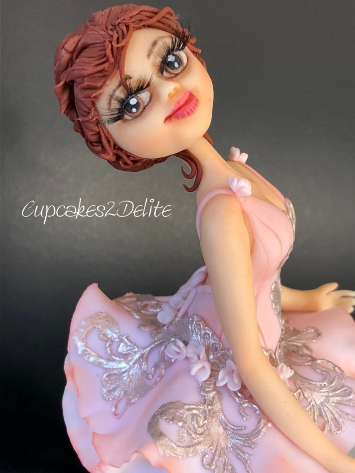 Ballerina Music Box Sugar Art