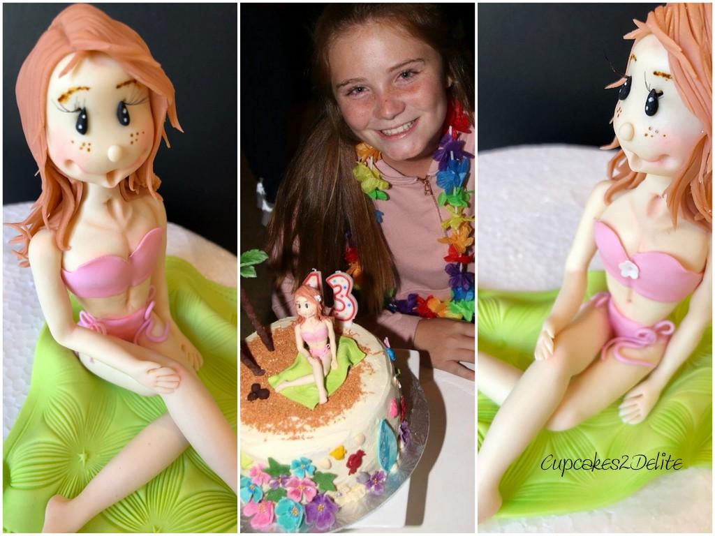 Bikini Girl Figurine