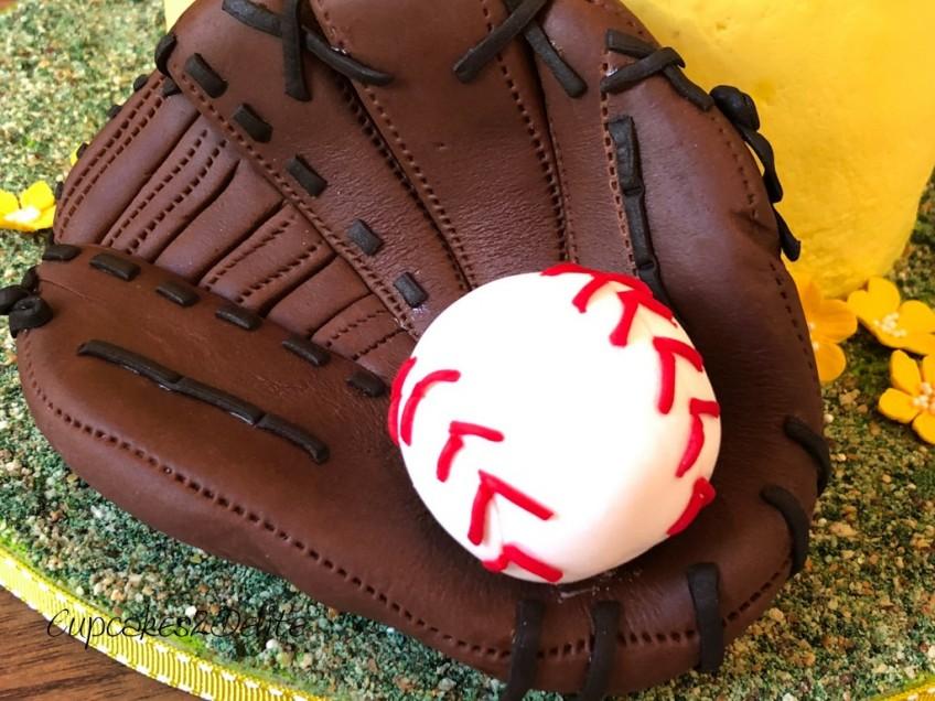 Enjoyable Softball Birthday Cake Cupcakes2Delite Personalised Birthday Cards Paralily Jamesorg