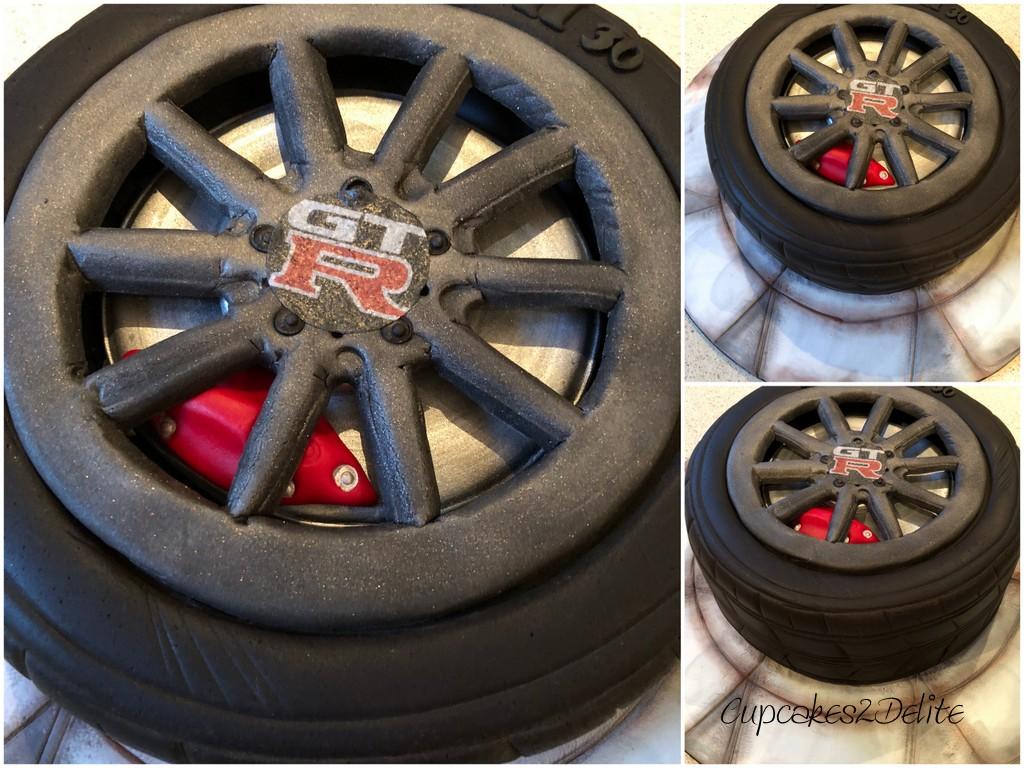 GTR Tyre Cake