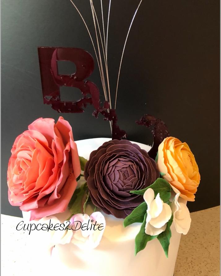 Wedding Cake - Blair & Duncan