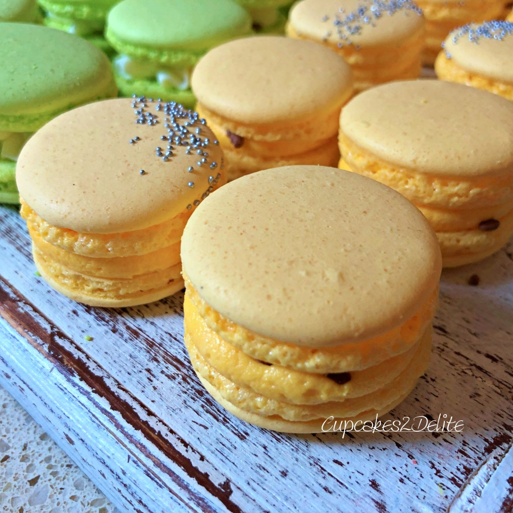 Macarons - Apple & Passionfruit